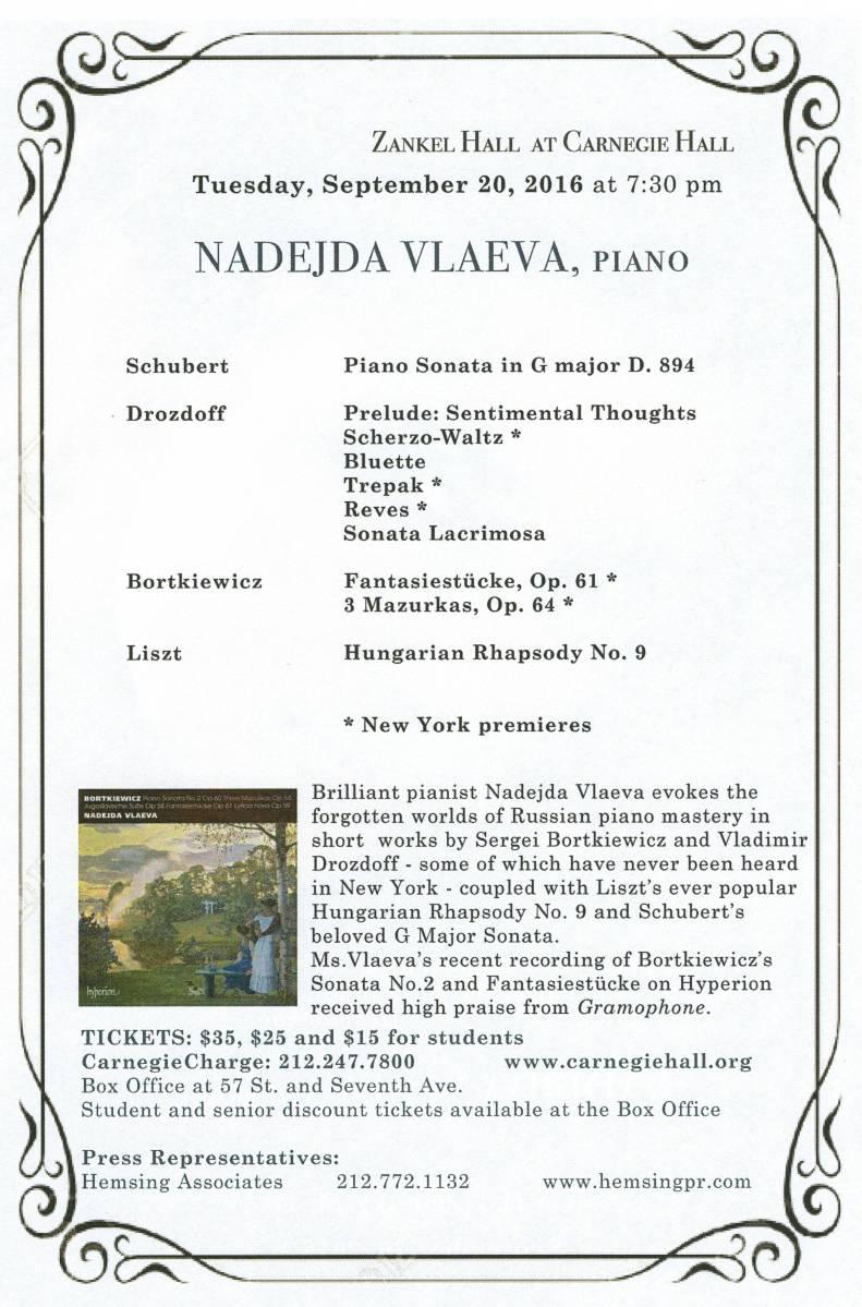 Nadejda Vlaeve Carnegie Hall Flyer 2016 (II)