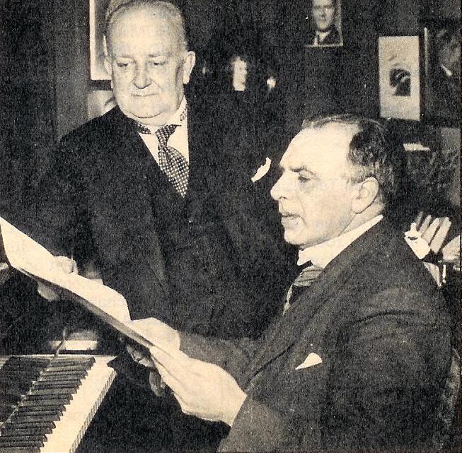 sergei bortkiewicz en hugo van dalen (1938)