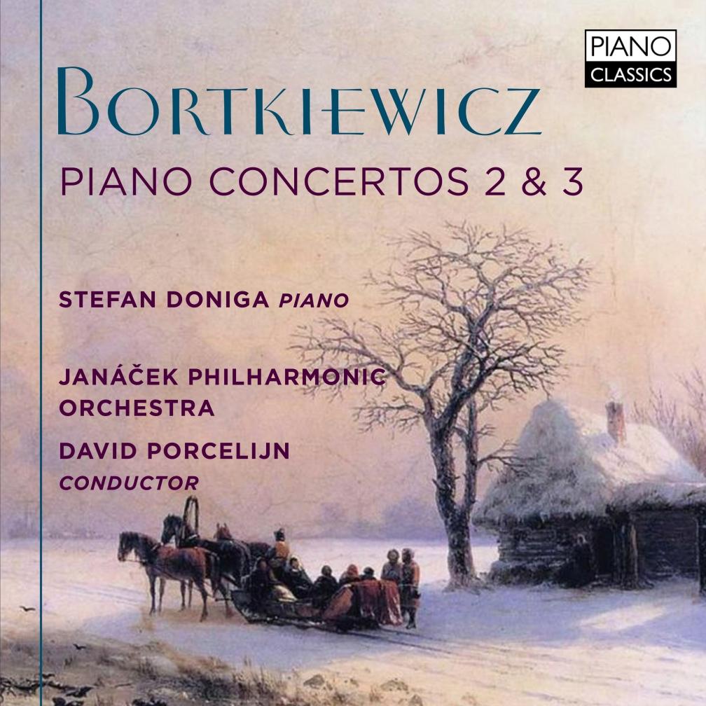 PIANO CLASSICS - BORTKIEWICZ PIANO CONCERTO 2&3